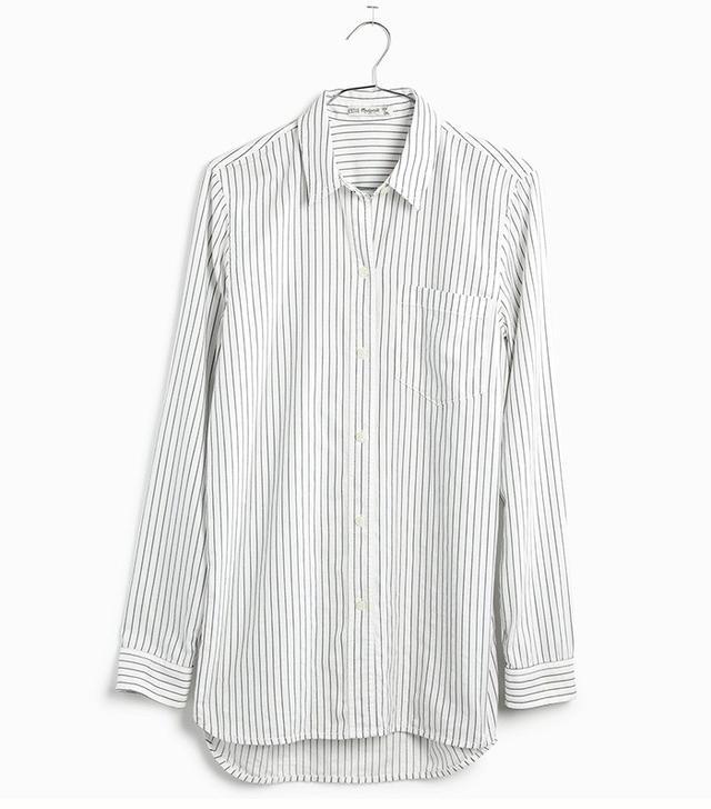 Madewell Ex-Boyfriend Shirt in Napa Stripe
