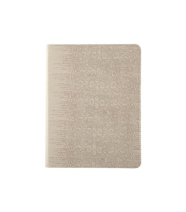 Barney's New York Lizard-stamped Leather Refillable Journal