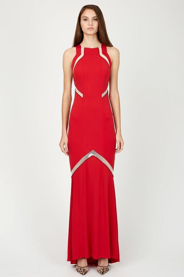Galvan Cut-Out Dress