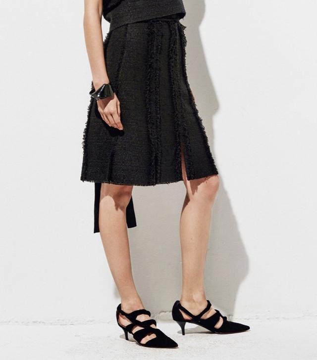 Proenza Schouler Tweed Skirt