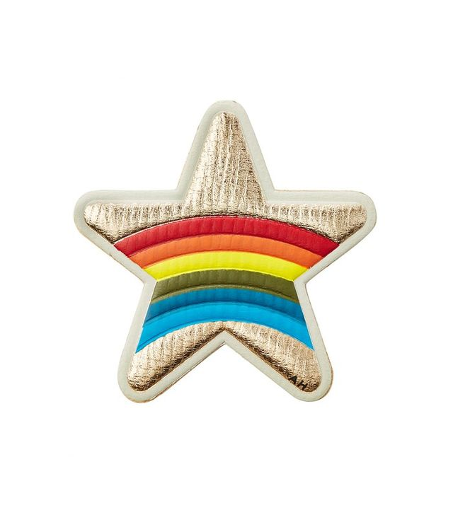 Anya Hindmarch Star Leather Sticker