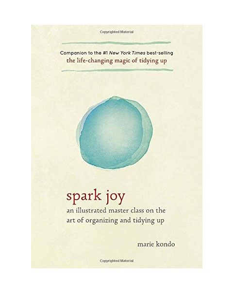Marie Kondo Spark Joy: An Illustrated Master Class on the Art of Organizing and Tidying Up