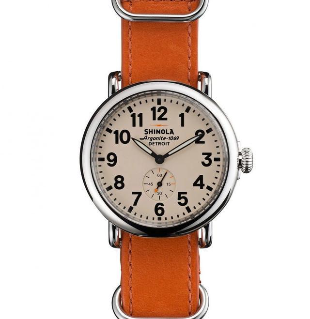 Shinola The Runwell Cream Dial Watch