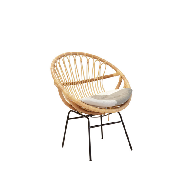 The Family Love Tree Basket Chair Natural