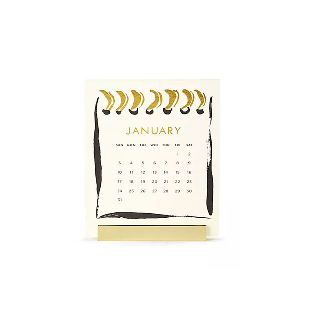 Kate Spade New York 2016 Desktop Calendar
