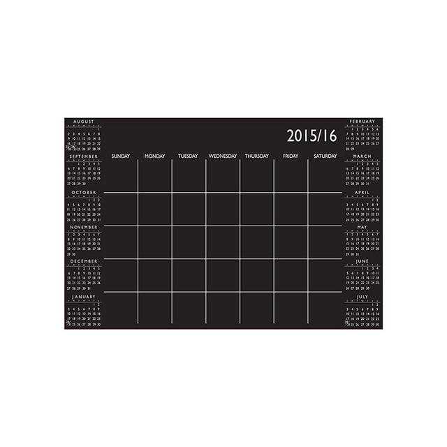 Wallpops Academic Dry Erase Calendar Wall Decal