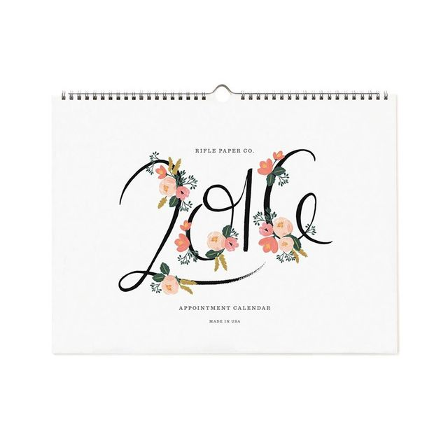 Rifle Paper Co 2016 Calendar
