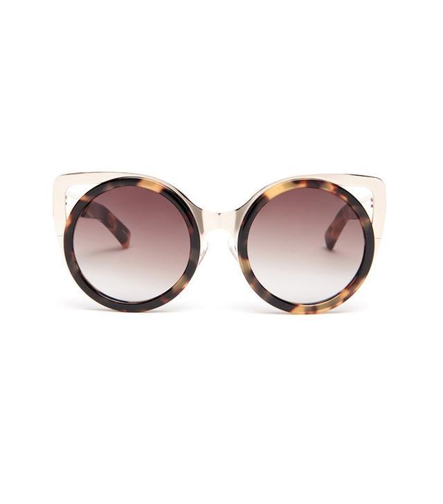 Erdem x Linda Farrow Cat-Eye Sunglasses