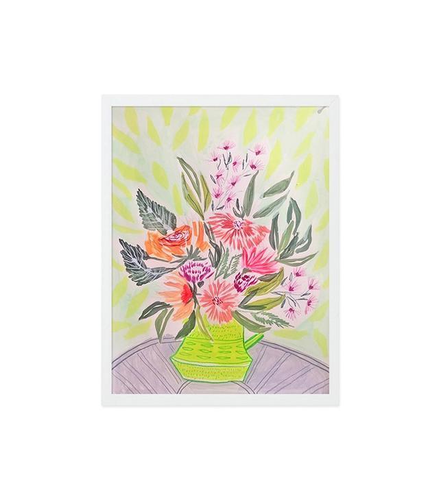 Lulie Wallace Floral Vase Print II