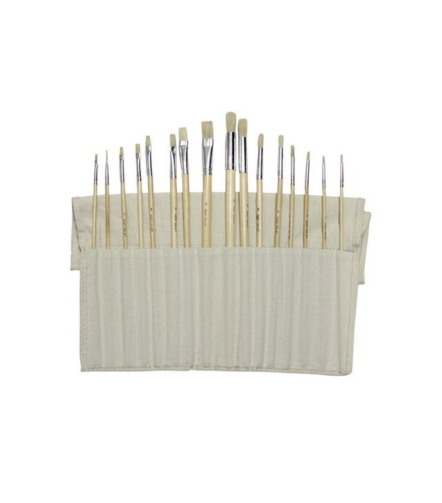 Curtsy 16 Piece Paint Brush Set