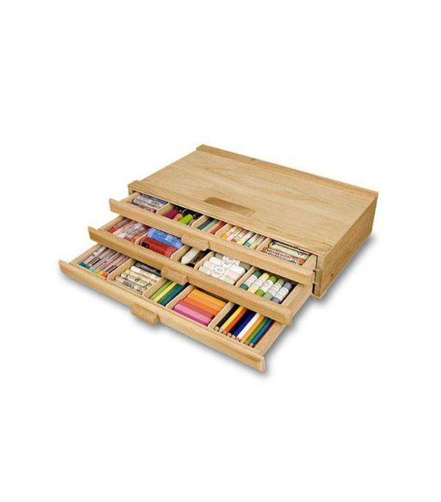 Creative Mark 3 Drawer Wood Pastel Box