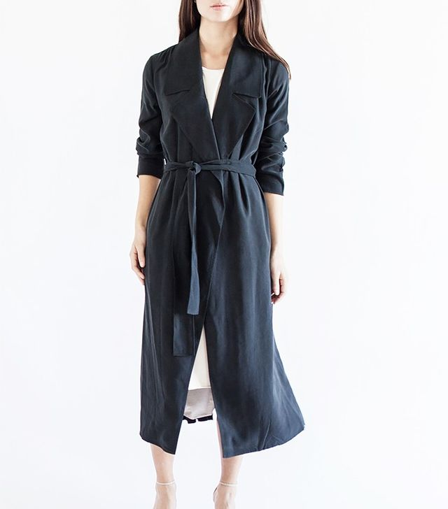 Modern Citizen Cara Wrap Trench Coat