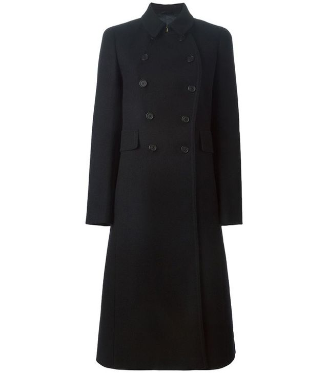 Fay Double Breasted Long Coat
