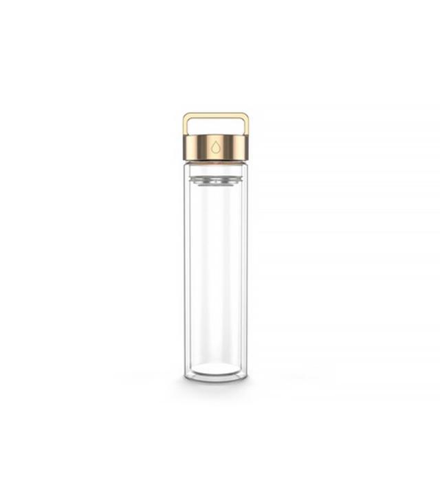 Drop Bottle Rose Gold Detox Water Bottle