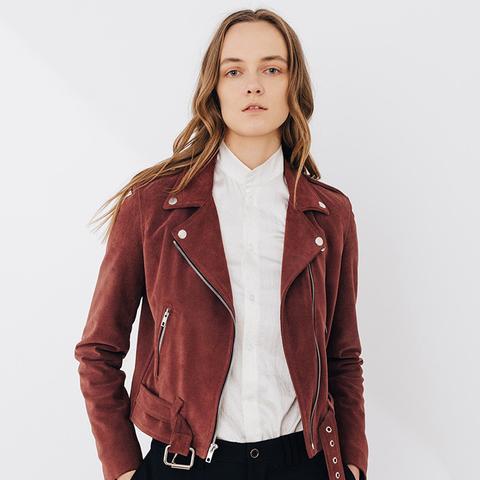 Rose Shrunken Jacket