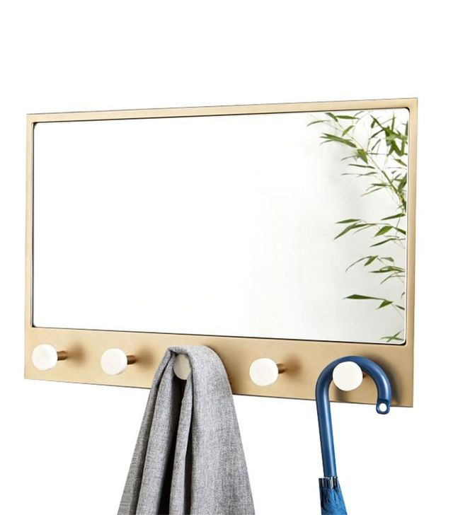 West Elm Deco Entryway Mirror