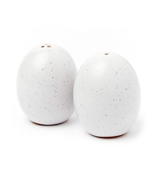 West Elm Egg Salt and Pepper Shaker Set