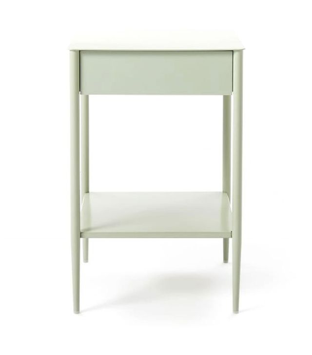 West Elm Metalwork Nightstand in Celadon