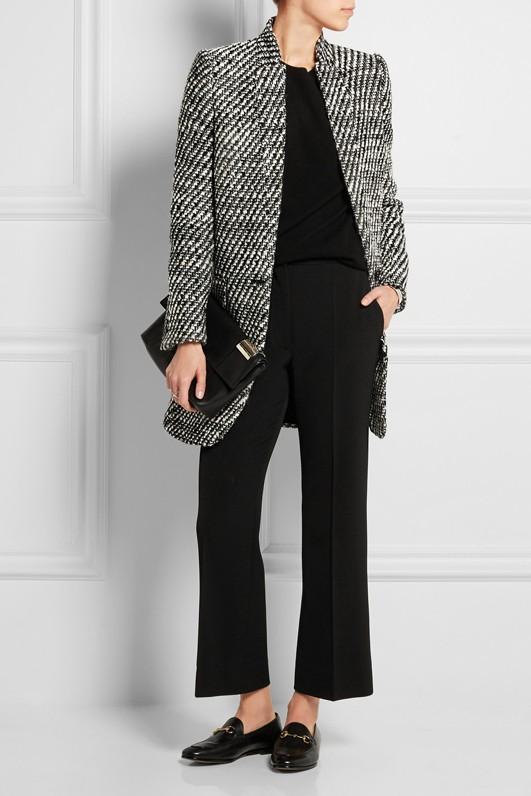 Stella McCartney Bryce Wool-Blend Tweed Coat