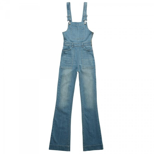 Kendall & Kylie Confused Wash Flare Overalls