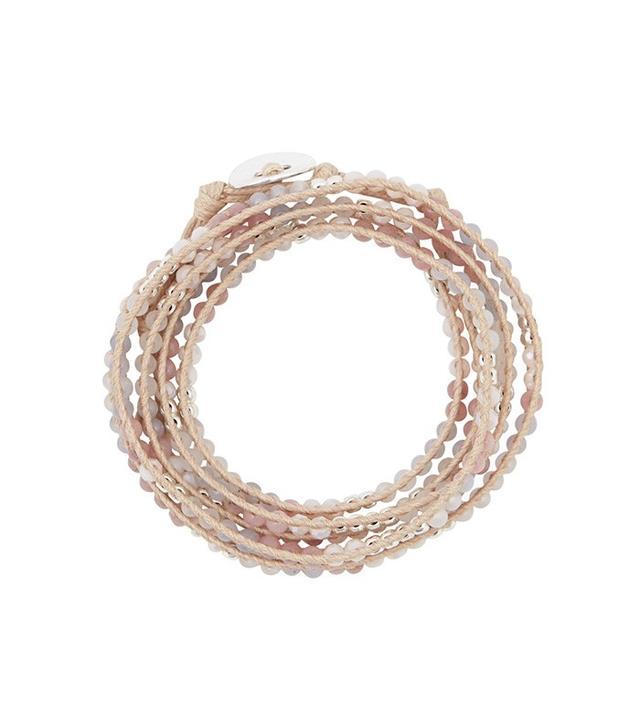 Marquet Stone + Crystal Wrap Bracelet