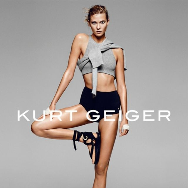 Karlie Kloss Goes Sport Chic for Kurt Geiger's Latest Campaign
