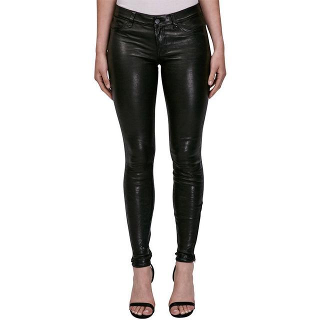 J Brand Maria High Rise Skinny Leather Pants