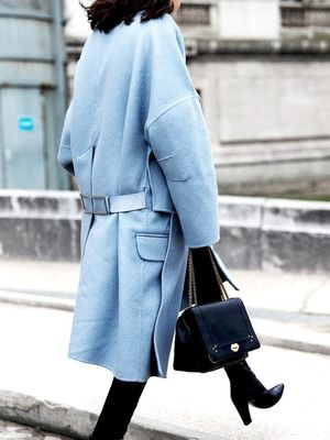 Would You Wear a Light Blue Coat for Winter?