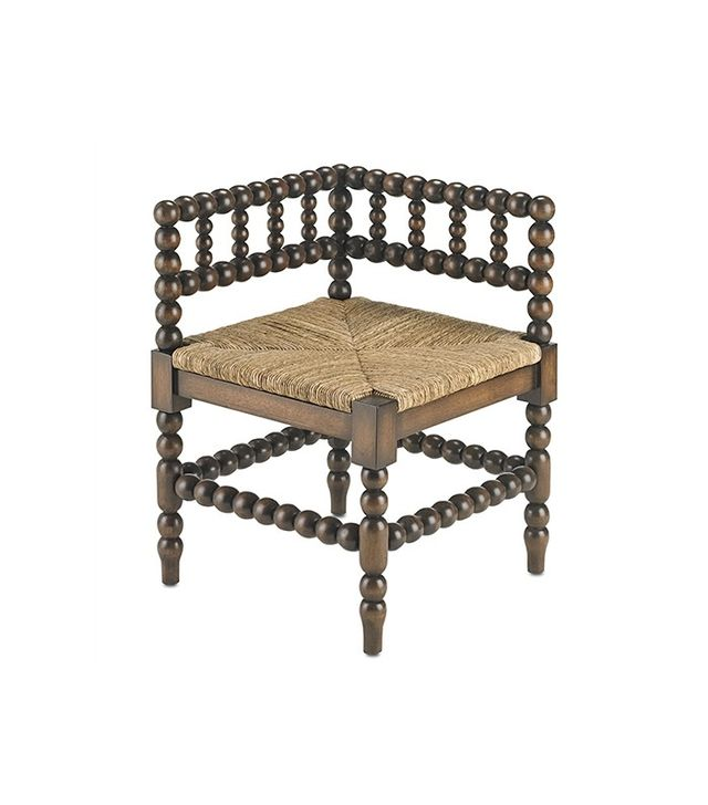 Currey & Company Camden Corner Chair