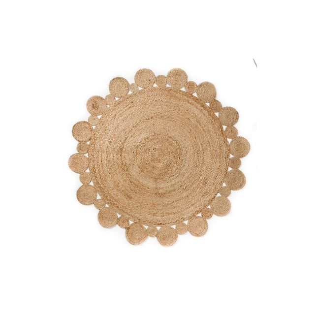 Adairs Natural Round Rug