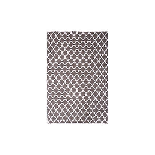 Target Diamond Grey Floor Rug - 1.2m x 1.8m