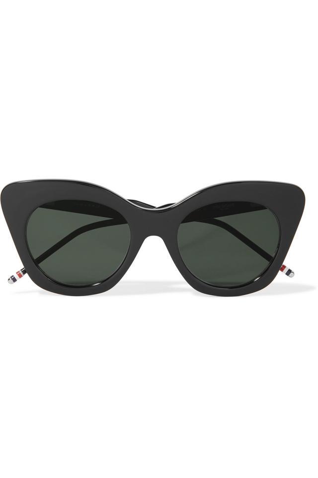 Thom Browne Cat-Eye Acetate Sunglasses