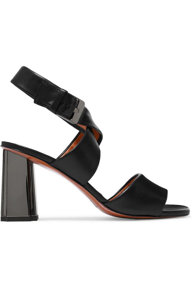 Zora Leather Sandals Buckled Sandal