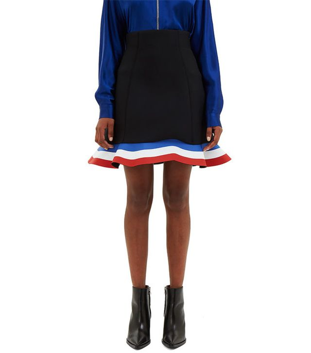 J.W.Anderson Peplum Mini Skirt