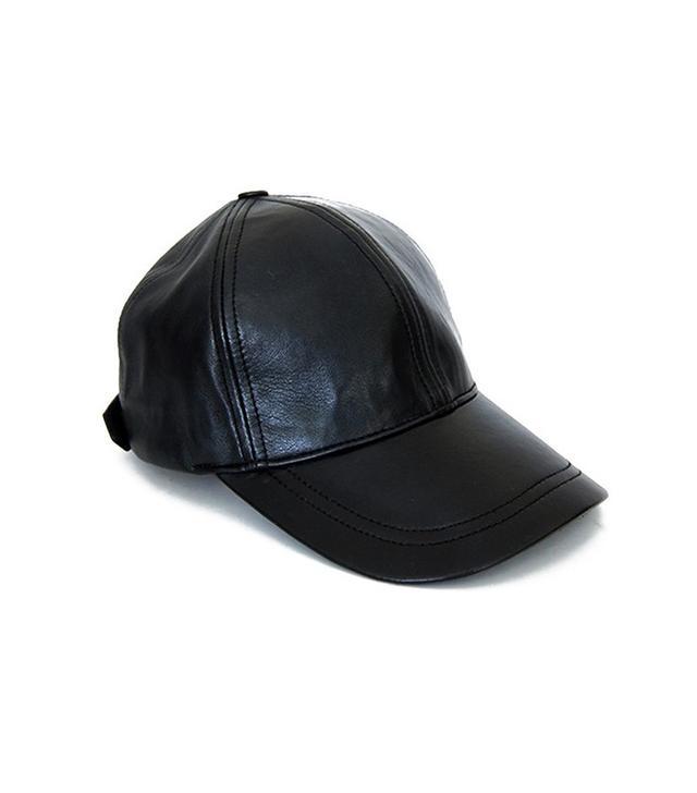 Olympia Activewear Leather Baseball Cap