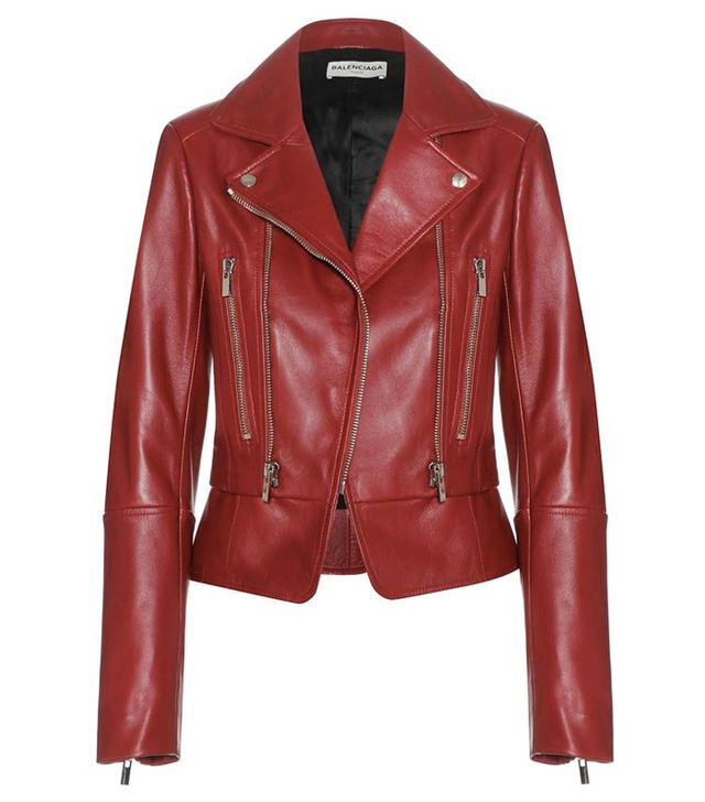 Balenciaga Leather Biker Jacket