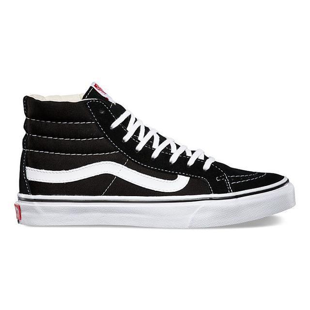 Vans SK8-Hi Slim in Black/White