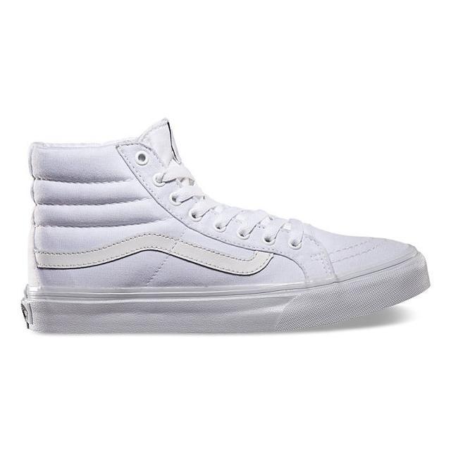 Vans SK8-Hi Slim True White Canvas