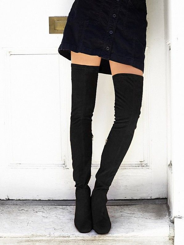 Jeffrey Campbell Parkway Thigh High Boots