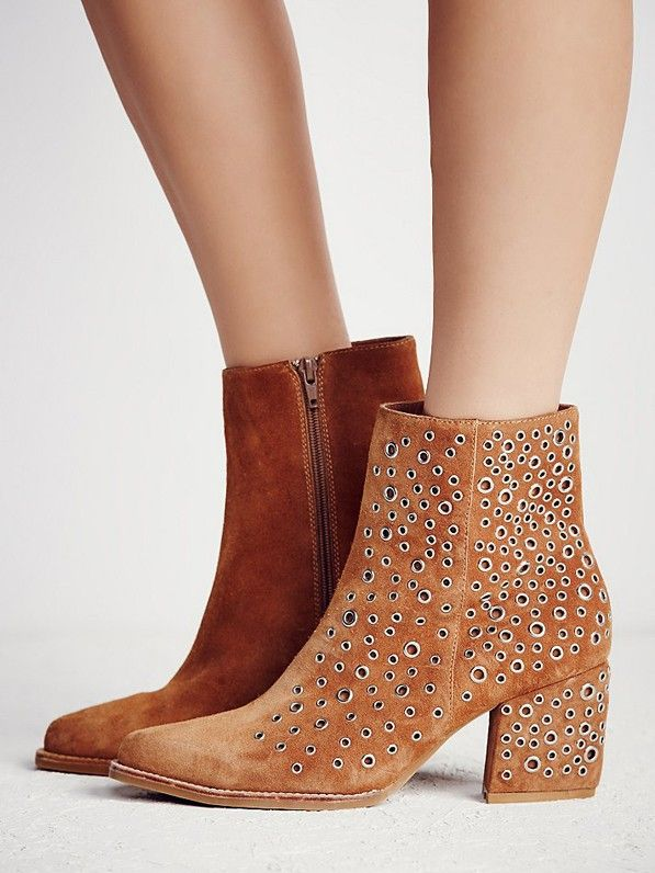 Jeffrey Campbell Cascading Eyelets Ankle Boots