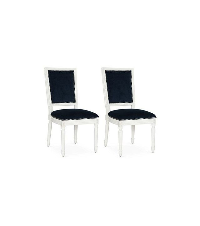 One Kings Lane Navy Lucy Side Chairs