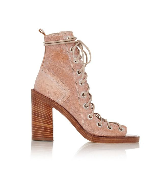 Ann Demulemeester Leather Lace-Up Sandals