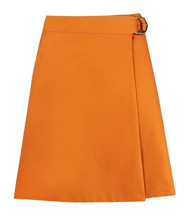Andrea Marques High Waist Wrap Skirt