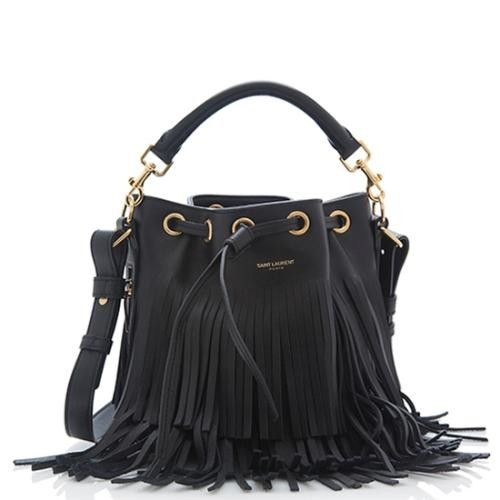 Saint Laurent Emmanuelle Small Bucket Bag