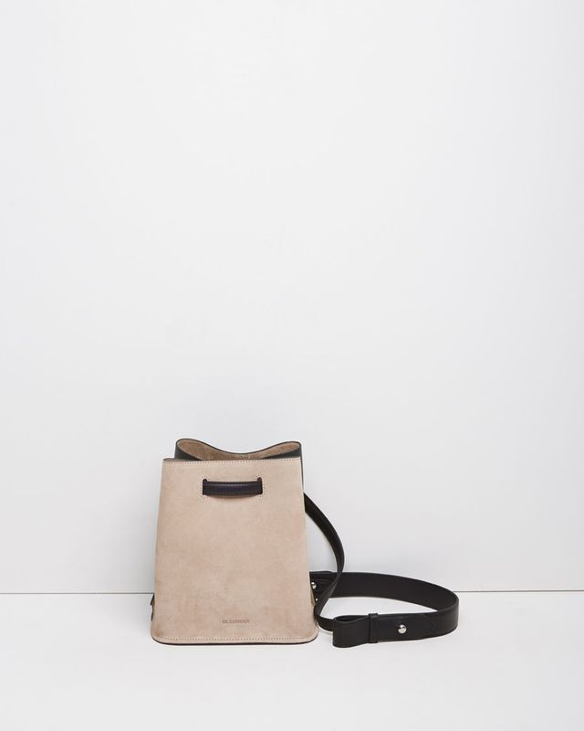 Jil Sander Two-Tone Bucket Bag