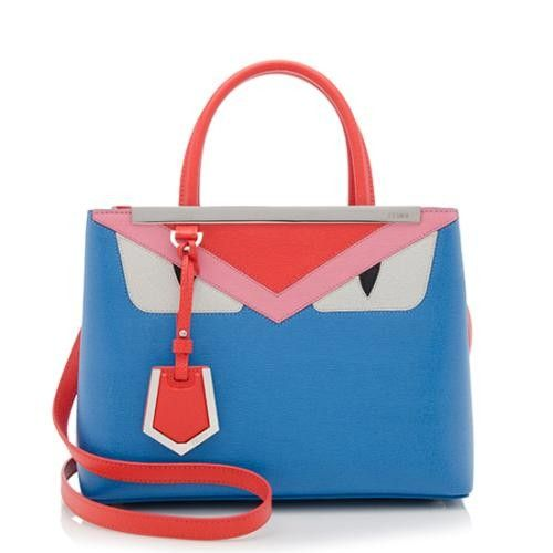 Fendi Petti 2 Jours Monster Tote