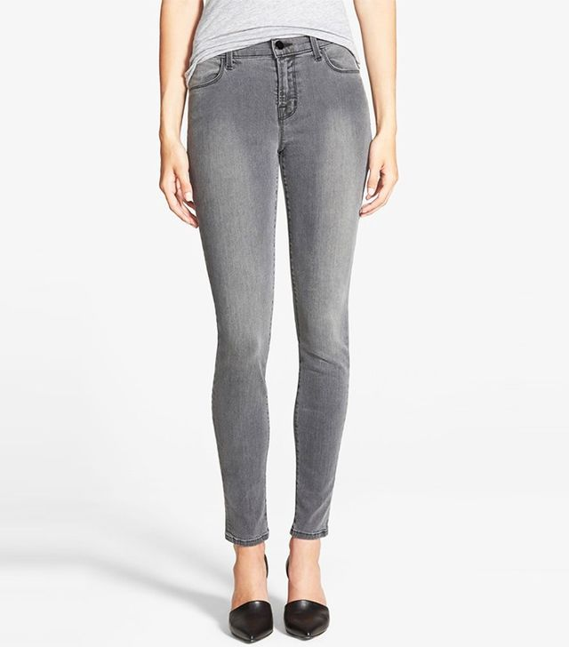 J Brand 620 Mid Rise Skinny Jeans (Nightbird)