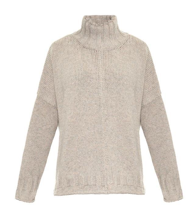 Joseph Melange Wool-Knit Sweater