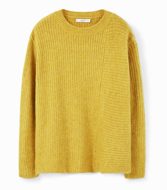 Mango Side Slits Sweater