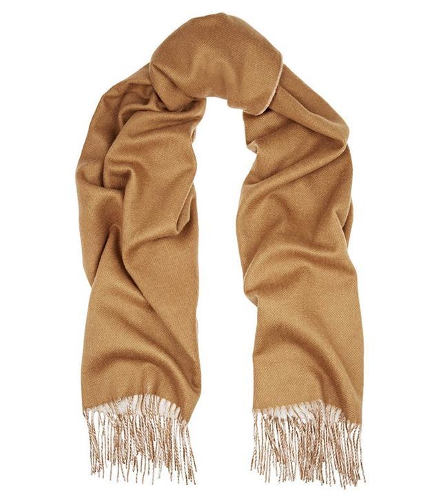 Rag & Bone Two-Toned Double-Faced Merino Wool Scarf